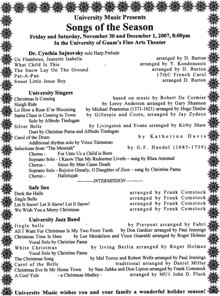 2007-11-30-UOG-Music---Songs-of-the-Season