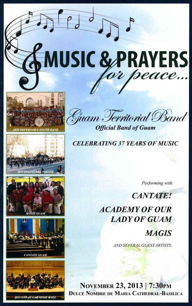 2013-11-23-Guam-Territorial-Band---Music-&-Prayers-For-Peace