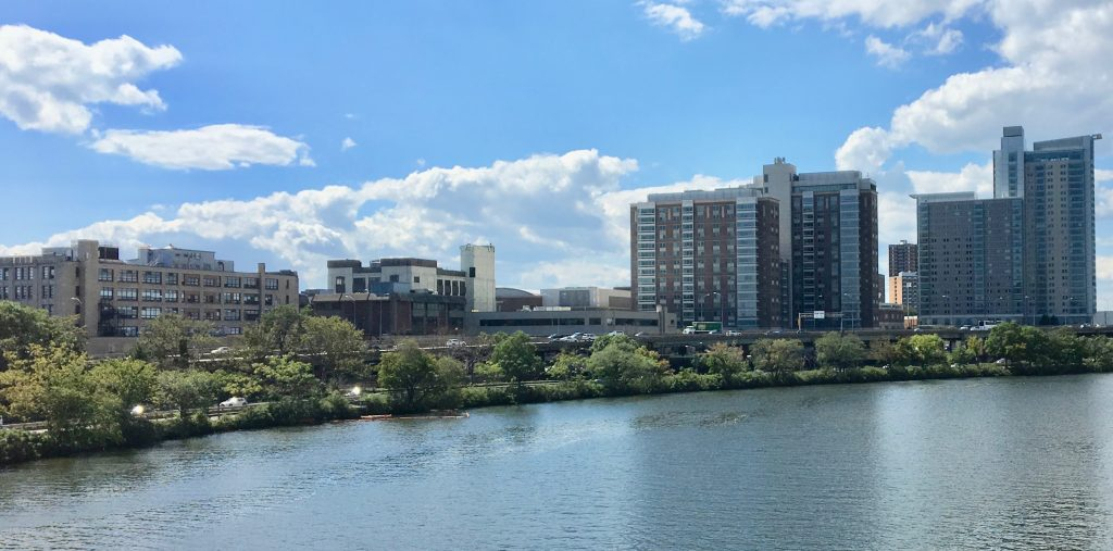 A quick picture I took of BU West Campus from BU Bridge